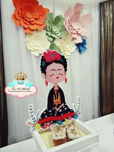 Frida Kahlo birthday party decorations! See more party ideas at CatchMyParty.com!