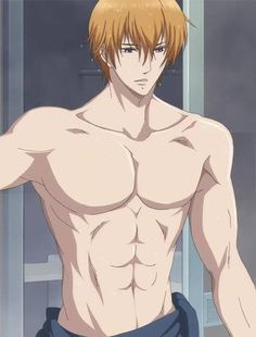 Asahina Natsume - Brothers Conflict,Anime and that's exactly why he's my favorite brother. That abs! and fuck he's a game developer hahaha