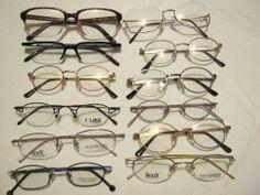 Restposten: 12 Brillenfassungen verschiedener Hersteller. Posten Nummer 3