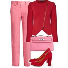 Combineren met roze
