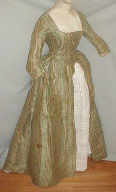 All The Pretty Dresses: 1780's Robe A La Anglaise