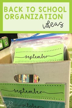 I'm sharing 4 ideas for getting organized before a new school year starts! Grab these FREE resources so you can take inventory of your classroom, get your leveled reading library in order, and ultimately save yourself time and money! The end of the the school year is a great time to start thinking about how you can better prepare for back to school time!