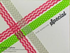 jd designs - Washi Tape Card feat. CTMH Finding the Words
