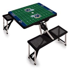 Picnic Time NFL Picnic Table Sport Finish: Hunter, NFL Team: Green Bay Packers