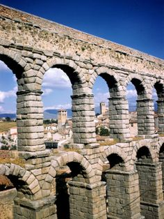 Aqueducts from the Roman Empire