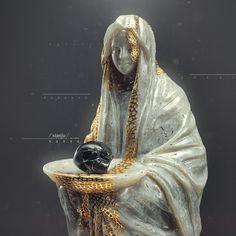 Artwork // By Mir Ansaruddin Wasif Gothic Aesthetic, Cyberpunk Art, Arte Horror, Photoshop, Skull And Bones, Fantastic Art, New Art, Sculpture Art, Art Drawings