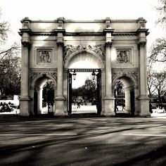 Queensland College London, #London, #England — by James Barry. Photo of Marble Arch aka 'The Haunted House' ;-)
