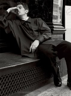 Mathias Lauridsen is a Vision of Elegance for Acne Paper #14