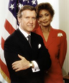 File:William Cohen and Janet Langhart Cohen, - Wikimedia Commons Interracial Couples, Biracial Couples, Mixed Couples, Cute Couples, Power Couples, Celebrity Couples, Celebrity Weddings, Black Woman White Man, Black Women