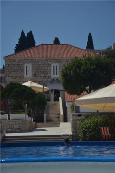 Hotel Borik - 3* - Lumbarda, Korčula Island, Croatia  nly steps from the beach on Korcula Island, Hotel Borik offers views of the marina and Pelješac Peninsula. It has an outdoor pool and offers free Wi-Fi in public areas.  Once the summer palace of a noble family, the Borik hotel is surrounded by a Mediterranean park including a solar-heated outdoor pool with a section for children.  Book online - http://www.eholidays.hr/en/hotel-borik-lumbarda-korcula  #eholidays #booking #hotels