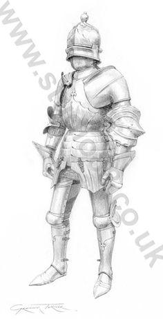 Graham Turner - Armadura de caballero inglés, c 1480.