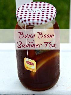 Bang Boom Summer Tea Recipe