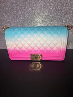 Colorful Jellie Purse on Mercari Cute Purses, Purses And Bags, Luxury Bags, Luxury Purses, Jelly Bag, Stylish Handbags, Fashion Bags, High Fashion, Cute Bags