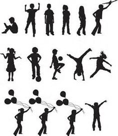 children silhouettes - Bing Images