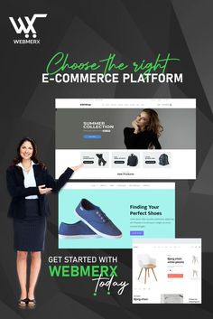 High-speed, attractive and responsive #website for your business. Our ecommerce platform has everything that will help your #business to function smoothly and drive traffic. So, make the right decision and get started with #Webmerx. 😇 Ecommerce Solutions, Ecommerce Platforms, Summer Sale, Finding Yourself, High Speed, Website, Business, Store, Business Illustration