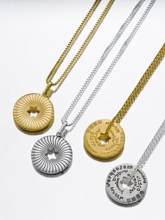 Handcrafted #Jerusalem necklaces. #gold and #silver Perfect holiday gift! www.yvel.com
