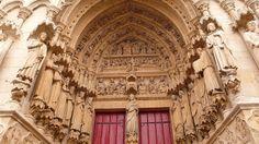 Catedral de Amiens (Picardie/Francia)- El Portal de la Virgen