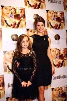 """BENİM DÜNYAM GALA 24 EKİM 2013 Beren Saat'in kör, sağır ve dilsiz bir kızı canlandırdığı """"Benim Dünyam"""" filminin galası önceki akşam yapıldı."""