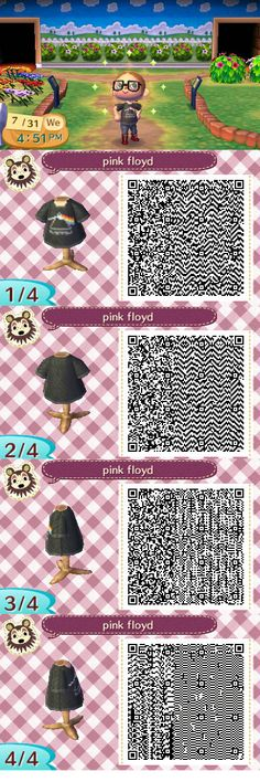 Pink Floyd Tshirt - Animal crossing