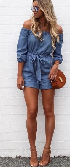 Too fake and baked, but love this jean look jumper