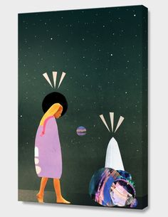 """""""Don't Hold Your Breath"""", Numbered Edition Canvas Print by laura redburn - From $69.00 - Curioos"""