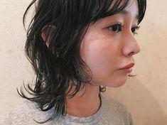 Pin by Etsuko Ogata on ヘアスタイル in 2019 Cut Her Hair, Hair Cuts, Split Dyed Hair, Mullet Hairstyle, Hair Arrange, Dream Hair, How To Make Hair, Pretty Hairstyles, New Hair
