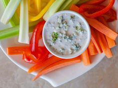 Lemon juice and parsley add bright flavor to this creamy Blue Cheese Dip that incorporates blue cheese into a sour cream and mayo base.