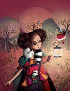 Sophie Lebot, princesse dans la nuit.