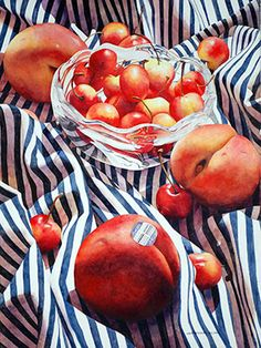 Chris Krupinski - Clementines and Quilt