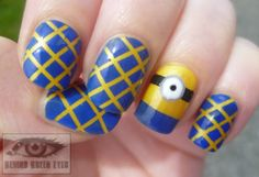 minion Christmas images | ... minion a mouth! I went back and added one with a small striping brush