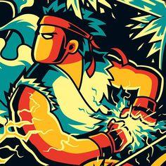 ARTIST: Angga Tantama (Indonesia) - Ryu #Yellowmenace #StreetFighter #StreetFighterArt #Ryu More Street Fighter Art @ https://society6.com/yellowmenace/collection/street-fighter-art?curator=yellowmenace