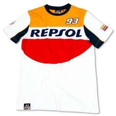 Tee-shirt homme MM93 MARQUEZ REPSOL - Ixtem-moto.com