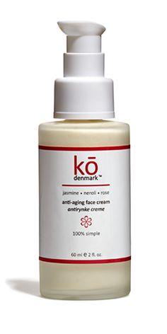 face cream - ko denmark: natural skin care