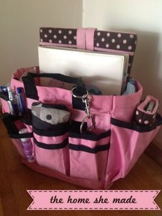 Kylie's handbag organisers found on facebook blue or purple prefered of course ;)