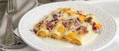 Cannelloni con zucca, radicchio e rosso   Ricette della Nonna