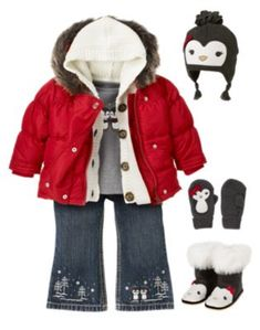 Penguin Chalet Line- Gymboree, Hey this is for when Angie has kids! and Molly, M should so wear this
