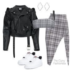 """""""Untitled #1232"""" by thecurvyfashionistaa ❤ liked on Polyvore featuring area, NIKE and Vetements"""