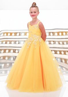 2015 Direct Selling Custom Made New Fashion Spaghetti Strap Applique Beaded Organza For Cristmas Flower Girl Dress Patterns