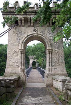 Bridge in one of the most beautiful parks in Romania, Nicolae Romanescu Park , Craiova, www.romaniasfriends.com