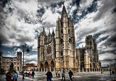 Catedral de Leon, Spain: can't wait to live here :D January 2013! <3