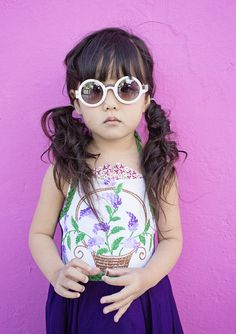 The warm months are almost here and there is no better way to welcome in Summer than POPS of color and, of course, popsicles! Kids Fashion Photography, Children Photography, Girl Fashion, Babies Fashion, Fashion Kids, Demi Rose, Little Monsters, Little Princess, Little Babies