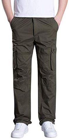 Joe Wenko Mens Climbing Big and Tall Outdoor Fast Dry Sports Trousers Pant