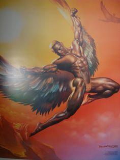 Taurus - a flying african warrior.