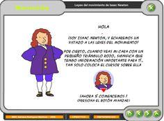 Presentacion interactiva de las leyes de movimiento.