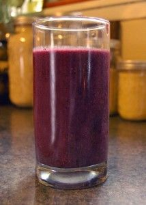 Blues-Busting Smoothie Recipe. I'm not a morning person. Maybe this will help.