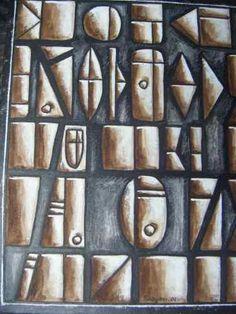 Jorge Damiani, Obras De La Serie  Bajo Relieve - U$S 690,00 en Mercado Libre