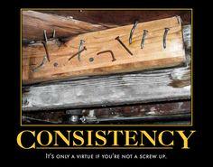 Consistency - Imgur