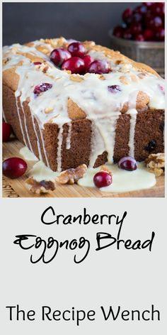 Cranberry eggnog bre
