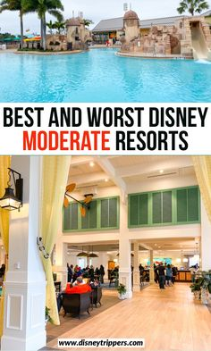 The Best (And Worst) Disney Moderate Resorts - Disney Trippers Disney World Hotels, Disney Resorts, Disney World Vacation, Disney Vacations, Disney Trips, Disney Travel, Disney Disney, Disney Parks, Usa Travel Guide