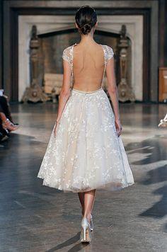 To see more gorgeous dresses from Inbal Dror: http://www.modwedding.com/2014/11/13/love-inbal-dror-wedding-dresses-2015/ #wedding #weddings #wedding_dress